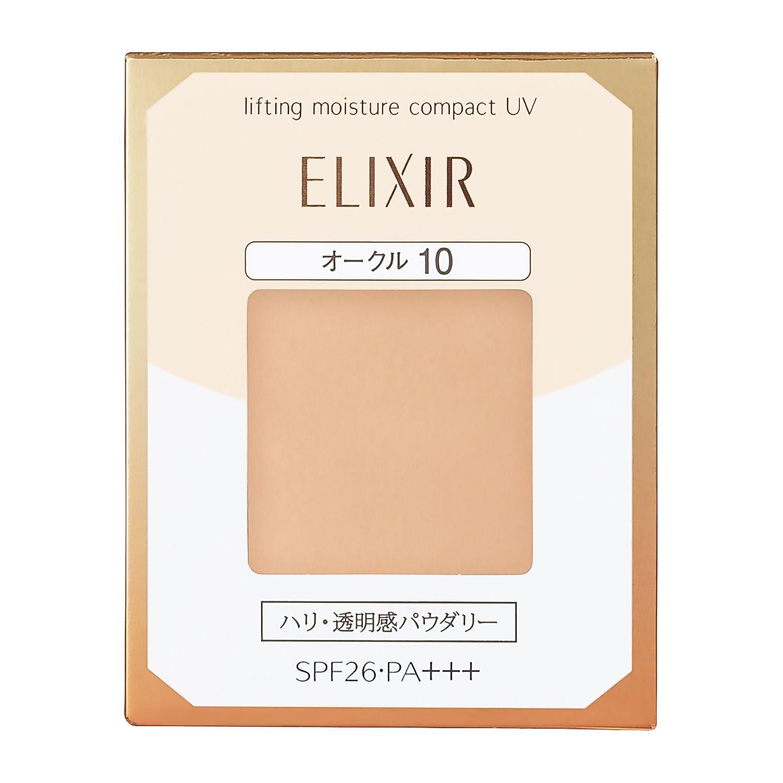 資生堂 エリクシール シュペリエル リフティングモイスチャーパクト UV オークル10 (レフィル) 9.2gのバリエーション4