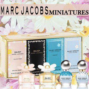 マーク ジェイコブス マーク ジェイコブス デイジー&ドリーム ミニチュアコレクション (4Pセット) 4ml/4ml/4ml/4ml MARC JACOBS 香水の画像