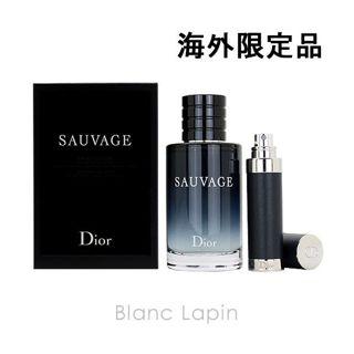 ディオール クリスチャンディオール Dior ソヴァージュ EDT 100ml/7.5ml [324625]の画像