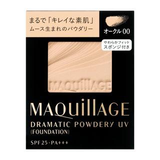 マキアージュ ドラマティックパウダリー UV (レフィル)  オークル00  オークル00 【レフィルのみ】 9.3g SPF25 PA+++の画像