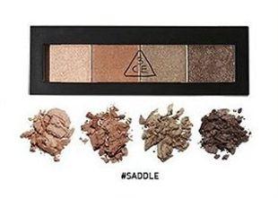 3CE アイシャドウ パレット SADDLE 2×4g の画像 0