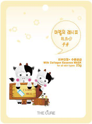 THE CURE シートマスク ミルクの画像