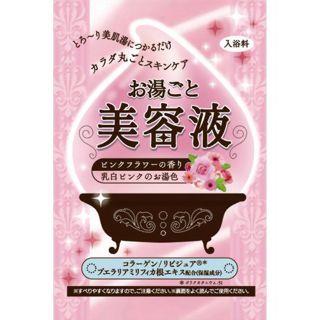 バイソン お湯ごと美容液 ピンクフラワーの香り 60gの画像