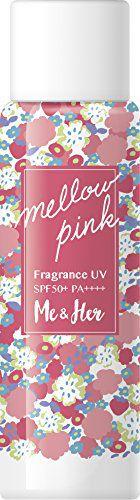 ミーアンドハー Me&Her フレグランスUV メロウピンクの画像
