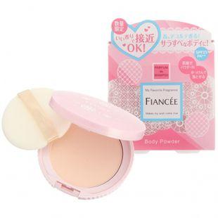 フィアンセ フレグランスボディパウダー ピュアシャンプーの香り 数量限定 10g SPF23 PA++ の画像 0
