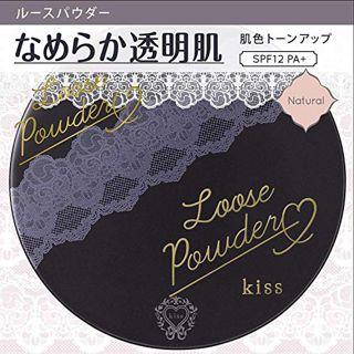 キス ルースパウダー ナチュラル 9g SPF12 PA+の画像