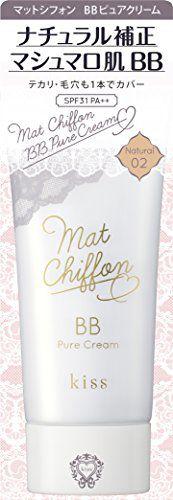キス マットシフォン BBピュアクリーム 02 Natural 30g SPF31 PA++の画像
