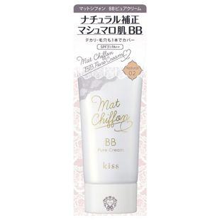 キス マットシフォン BBピュアクリーム 02 Natural 30g SPF31 PA++ の画像 0