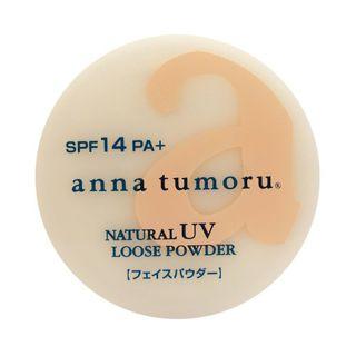 アンナトゥモール アンナトゥモール anna tumoru cosme ナチュラルUVルースパウダー SPF10 PA+ クリアベージュ 13gの画像