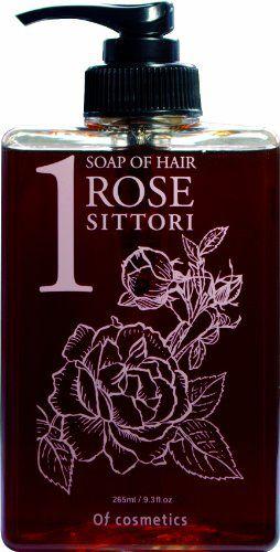 オブ・コスメティックス オブ・コスメティックス Of cosmetics ソープオブヘア・1-ROシットリ 本体(スタンダードサイズ) 265ml ローズの香りの画像