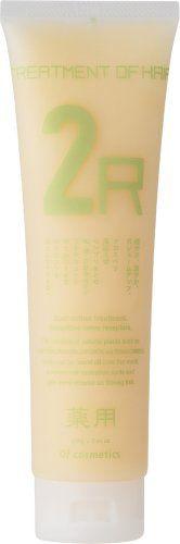 オブ・コスメティックス オブ・コスメティックス Of cosmetics 薬用トリートメントオブヘア 2-R 本体(スタンダードサイズ) 210gの画像
