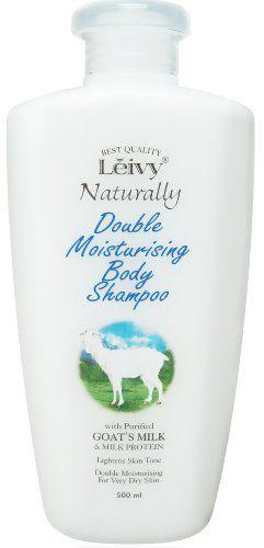 レイヴィーナチュラリー レイヴィー Leivy ボディシャンプー ゴートミルク&ミルクプロテイン 500mlの画像