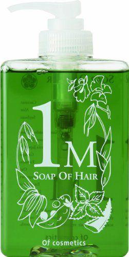 オブ・コスメティックス オブ・コスメティックス Of cosmetics ソープオブヘア・1-M 本体(スタンダードサイズ) 265ml ペパーミントの香りの画像