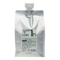 オブ・コスメティックス オブ・コスメティックス Of cosmetics ソープオブヘア・1-M エコサイズ 1000ml ペパーミントの香りの画像