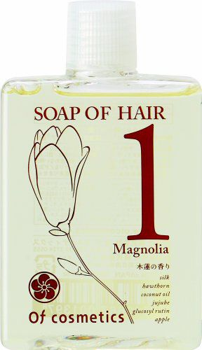 オブ・コスメティックス オブ・コスメティックス Of cosmetics ソープオブヘア 1-Ma ミニサイズ 60ml マグノリア(木蓮)の香りの画像
