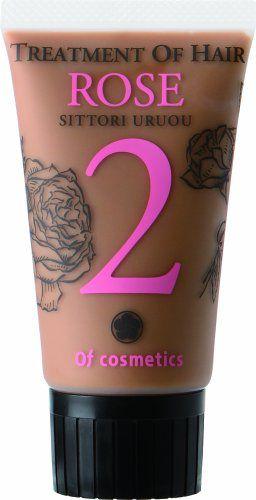 オブ・コスメティックス オブ・コスメティックス Of cosmetics トリートメント オブ ヘア・2-RO シットリ ミニサイズ 50g ローズの香り の画像 0