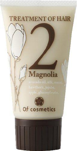 オブ・コスメティックス オブ・コスメティックス Of cosmetics トリートメントオブヘア・2-Ma ミニサイズ 50g マグノリア(木蓮)の香り の画像 0
