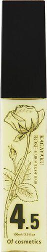 オブ・コスメティックス オブ・コスメティックス Of cosmetics ヘアミルクオブヘア 4.5RO 本体(スタンダードサイズ) 100ml ローズの香りの画像