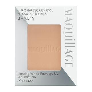 マキアージュ ライティング ホワイトパウダリー UV オークル10 オークル10 【レフィルのみ】 10g SPF25 PA++の画像
