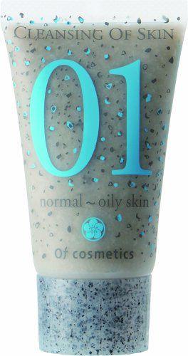 オブ・コスメティックス オブ・コスメティックス Of cosmetics クレンジングオブスキン ・01 ミニサイズ 50g フレッシュムスクの香りの画像