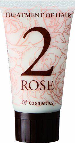 オブ・コスメティックス オブ・コスメティックス Of cosmetics トリートメントオブヘア・2-RO ミニサイズ 50g ローズの香りの画像