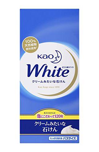 花王ホワイト 花王ホワイト Kao 花王ホワイト ホワイトフローラルの香り(バスサイズ) 130g×6の画像