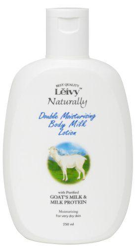 レイヴィーナチュラリー レイヴィー Leivy ボディローション ゴートミルク&ミルクプロテイン 250mlの画像