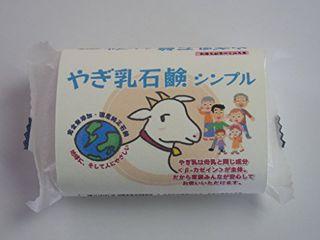 null 桶谷石鹸 OKETANI やぎ乳石鹸 シンプル 80gの画像