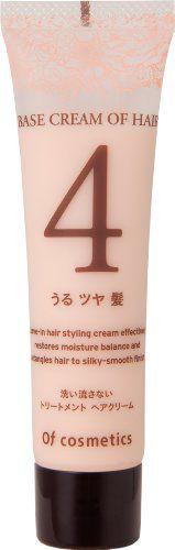 オブ・コスメティックス オブ・コスメティックス Of cosmetics ベースクリームオブヘア・4 ミニサイズ 35g ローズブーケの香りの画像