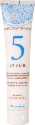 オブ・コスメティックス オブ・コスメティックス Of cosmetics ベースコートオブヘア・5 本体(スタンダードサイズ) 120g グレープフルーツの香りの画像