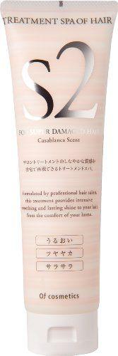オブ・コスメティックス オブ・コスメティックス Of cosmetics トリートメントスパオブヘア・S2 本体(スタンダードサイズ) 210g カサブランカの香りの画像