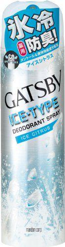 ギャツビー ギャツビー GATSBY アイスデオドラントスプレーアイスシトラス 135gの画像