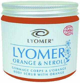 リヨメール リヨメール LYOMER ボディ スクラブ オレンジ&ネロリ 240gの画像