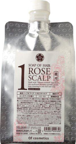 オブ・コスメティックス オブ・コスメティックス Of cosmetics 薬用ソープオブヘア・1-ROスキャルプ エコサイズ 1000ml ローズブーケの香りの画像