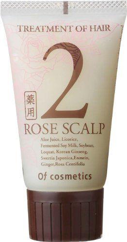 オブ・コスメティックス オブ・コスメティックス Of cosmetics 薬用トリートメントオブヘア・2-ROスキャルプ ミニボトル 50g ローズブーケの香りの画像