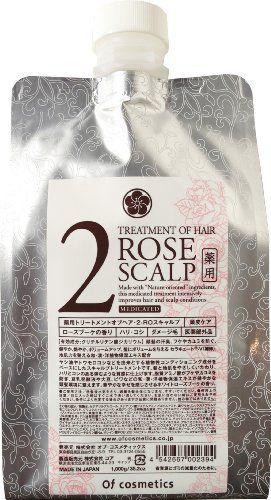 オブ・コスメティックス オブ・コスメティックス Of cosmetics 薬用トリートメントオブヘア・2-ROスキャルプ エコサイズ 1000g ローズブーケの香りの画像