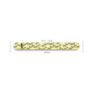 ピアドラ pieadra ピアドラ ファイル ミニー ロゴ 18×2×4mm