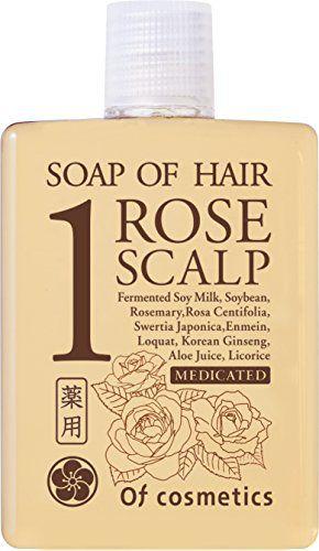 オブ・コスメティックス オブ・コスメティックス Of cosmetics 薬用ソープオブヘア・1-ROスキャルプ ミニサイズ 60ml ローズブーケの香りの画像