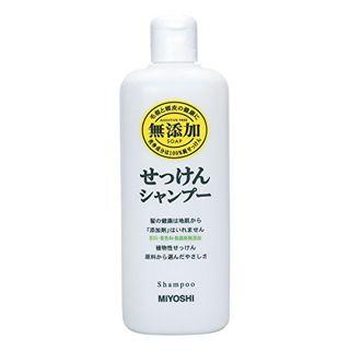 MIYOSHI ミヨシ MIYOSHI 無添加 せっけんシャンプー シャンプー/本体 350mlの画像