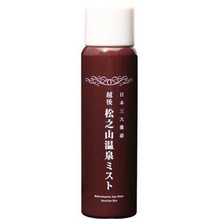 オンセンキレイ オンセンキレイ Onsen-Kirei 松之山温泉ミスト 80gの画像
