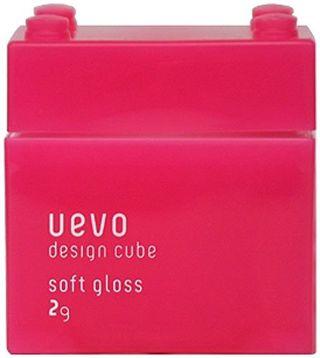 ウェーボ デザインキューブ ウェーボ デザインキューブ UEVO design cube デザインキューブ ソフトグロス 80gの画像