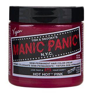 マニックパニック マニックパニック マニックパニックカラークリーム ホットホットピンク 118mlの画像