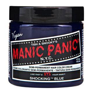 マニックパニック マニックパニック マニックパニックカラークリーム ショッキングブルー 118mlの画像
