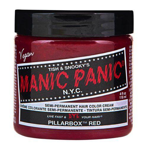 マニックパニックのマニックパニック マニックパニックカラークリーム ピラーボックスレッド 118mlに関する画像1