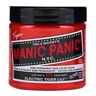 マニックパニック マニックパニック マニックパニックカラークリーム エレクトリックタイガーリリー 118mlの画像