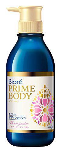 ビオレ ビオレ Biore プライムボディ オイルinボディウォッシュ フラワーガーデンの香り 本体 本体 500mlの画像