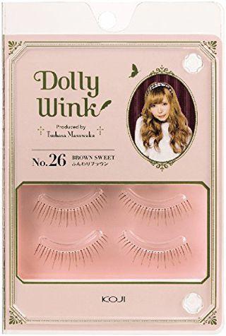 ドーリーウインク ドーリーウインク Dolly Wink アイラッシュ No.26ブラウンスイート 2ペアの画像