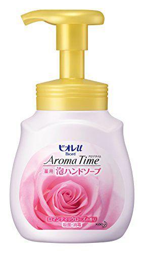 ビオレu ビオレu Biore u アロマタイム 泡ハンドソープ ロマンティックローズの香り ポンプ 230mlの画像
