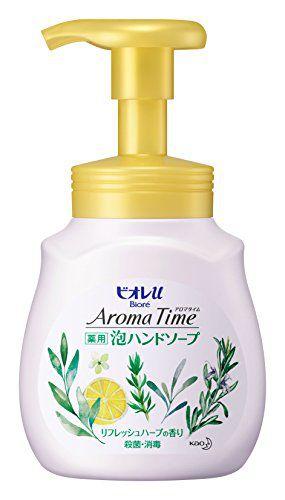 ビオレu ビオレu Biore u アロマタイム 泡ハンドソープ リフレッシュハーブの香り ポンプ 230mlの画像