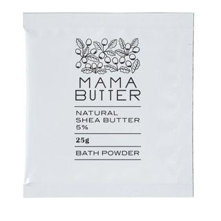 ママバター ママバター MAMA BUTTER ママバター バスパウダー 25g 無香料の画像